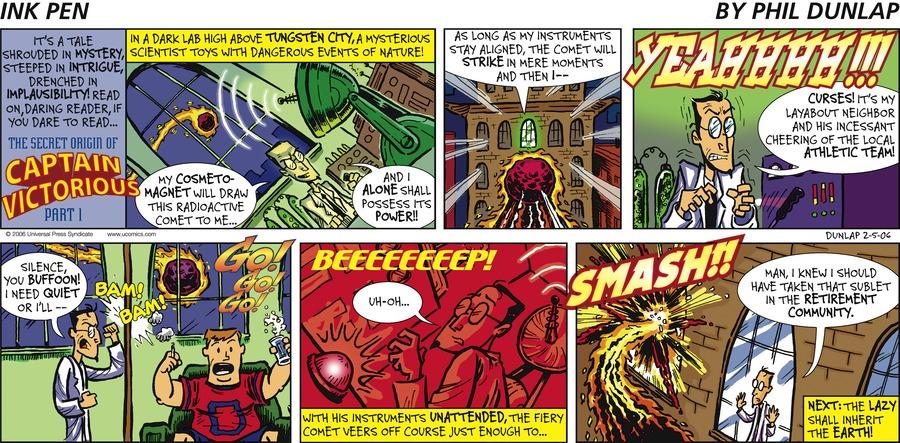 Ink Pen Comic Strip for February 05, 2006