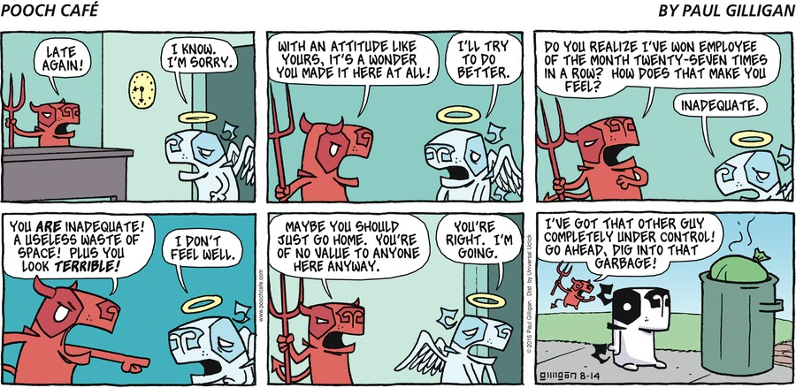 Pooch Cafe Comic Strip for August 14, 2016