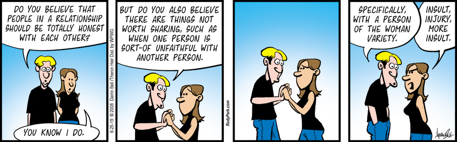 Rudy Park Comic Strip for June 25, 2019