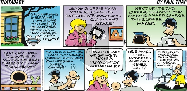 Thatababy on Sunday September 3, 2017 Comic Strip