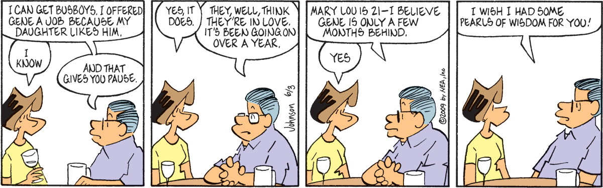 Arlo and Janis for Jun 3, 2009 Comic Strip