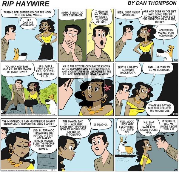 Rip Haywire - Sunday March 28, 2021 Comic Strip