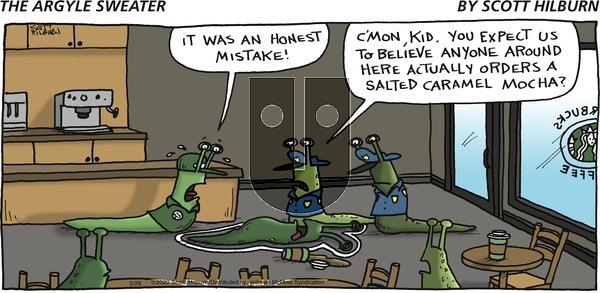 The Argyle Sweater - Sunday March 29, 2020 Comic Strip