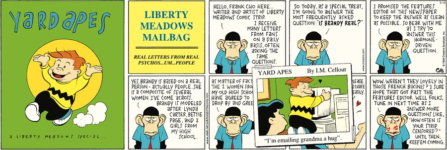 Liberty Meadows Comic Strip for May 16, 2021