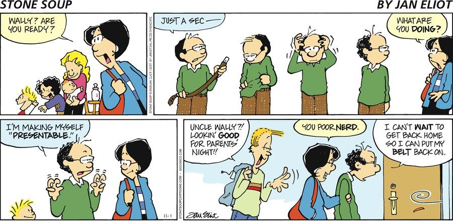 Stone Soup for Nov 1, 2009 Comic Strip