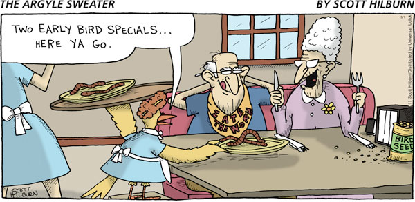 The Argyle Sweater for May 1, 2011 Comic Strip