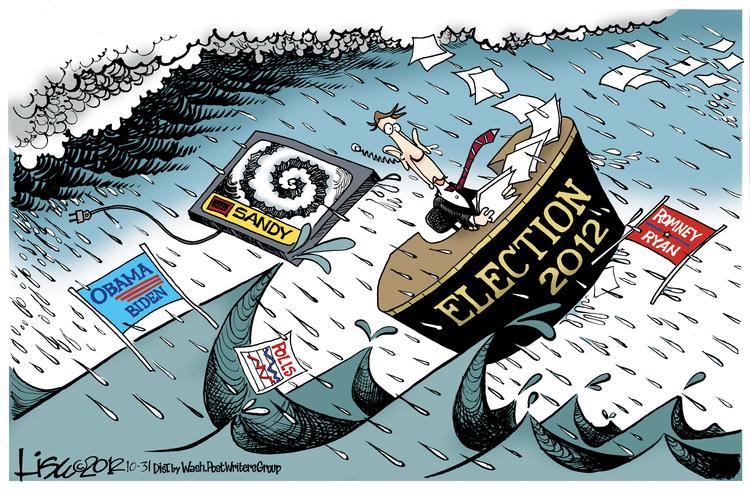 Lisa Benson Comic Strip for October 31, 2012