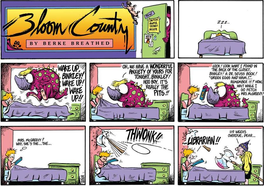 Bloom County 2019 Comic Strip for June 28, 2017
