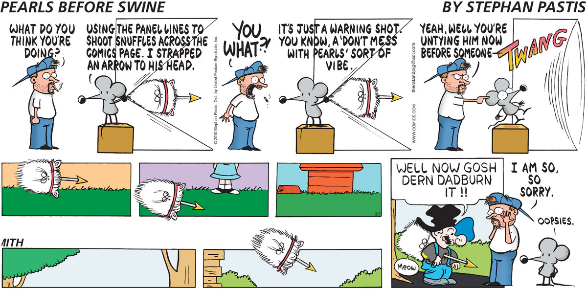 Pearls Before Swine Comic Strip for March 07, 2010