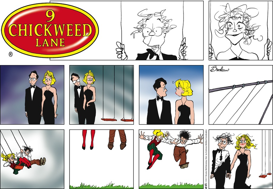 9 Chickweed Lane for Oct 22, 2017 Comic Strip