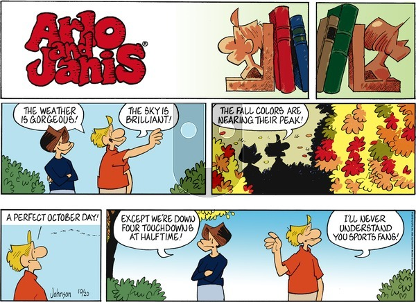 Arlo and Janis on Sunday October 20, 2019 Comic Strip