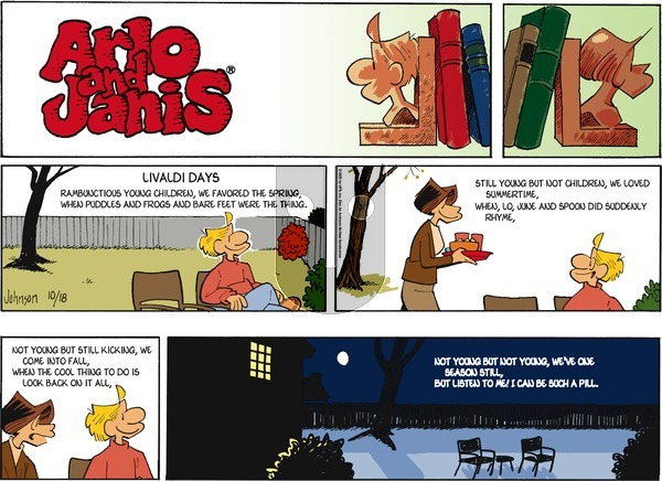Arlo and Janis on Sunday October 18, 2020 Comic Strip