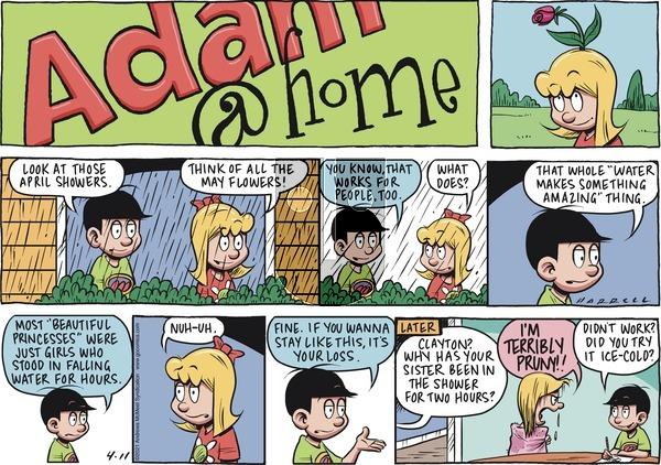 Adam@Home - Sunday April 11, 2021 Comic Strip