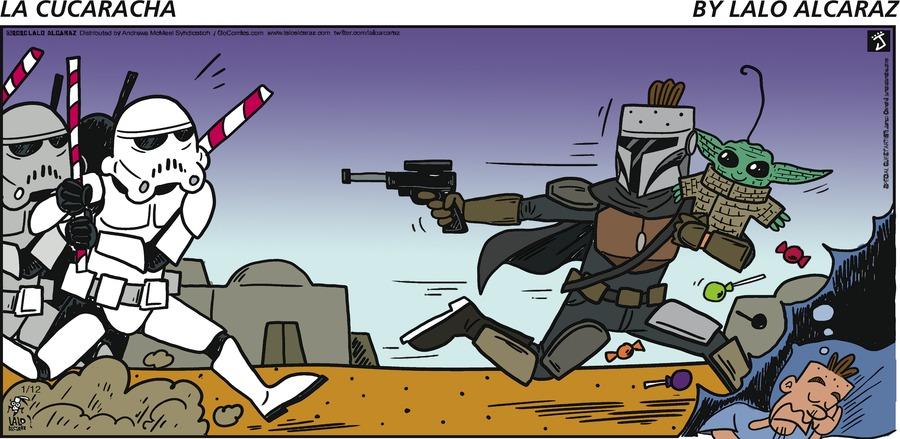 La Cucaracha Comic Strip for January 12, 2020
