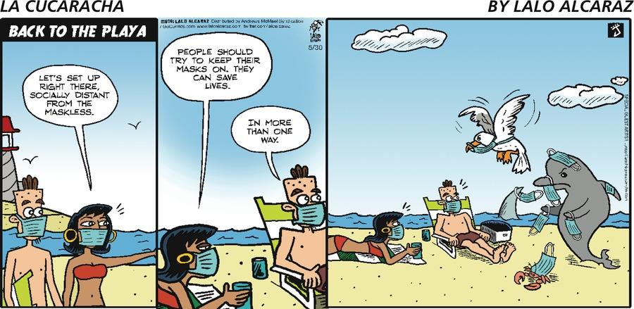 La Cucaracha Comic Strip for May 30, 2021