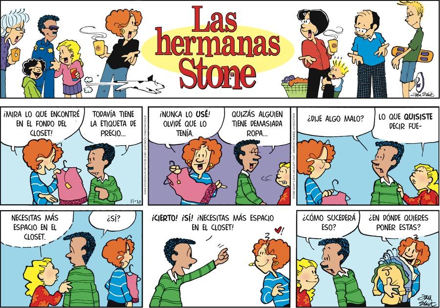 Las Hermanas Stone by Jan Eliot on Sun, 10 Nov 2019