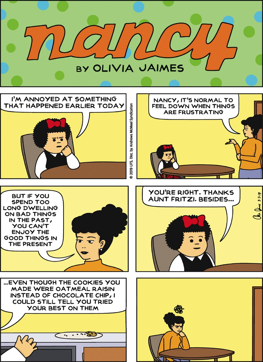 Nancy by Olivia Jaimes for March 03, 2019