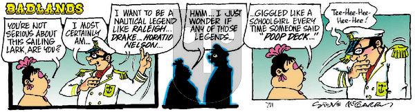 Badlands on Saturday February 20, 2021 Comic Strip