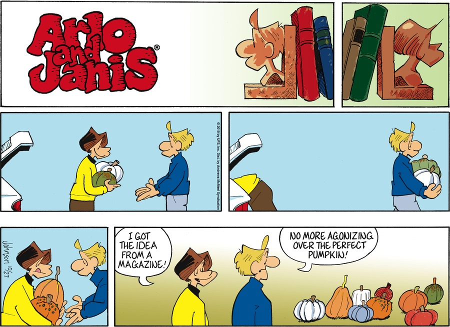 Arlo and Janis Comic Strip for October 27, 2019