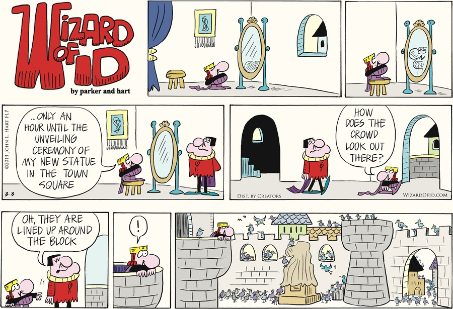Wizard of Id for Mar 3, 2013 Comic Strip