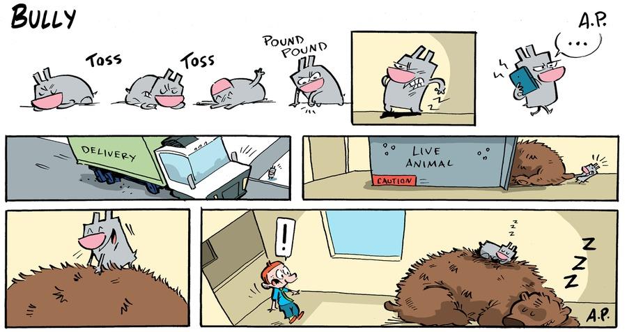 Bully Comic Strip for January 24, 2021