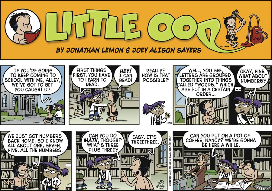 Alley Oop Comic Strip for May 10, 2020