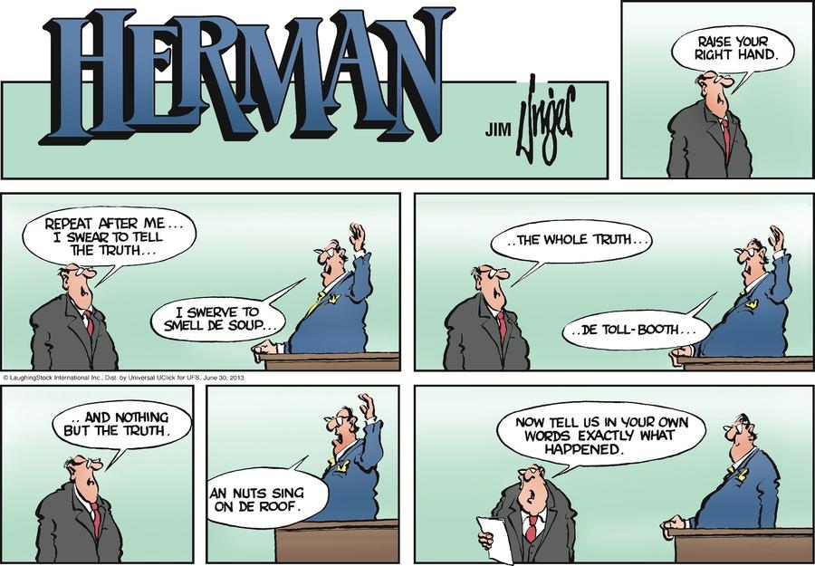 Herman for Jun 30, 2013 Comic Strip