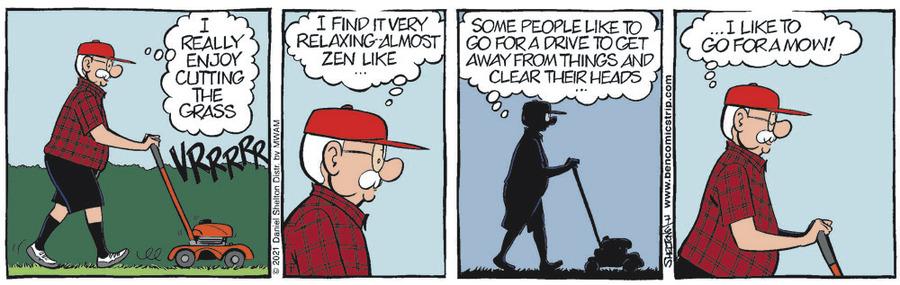 Ben Comic Strip for July 06, 2021