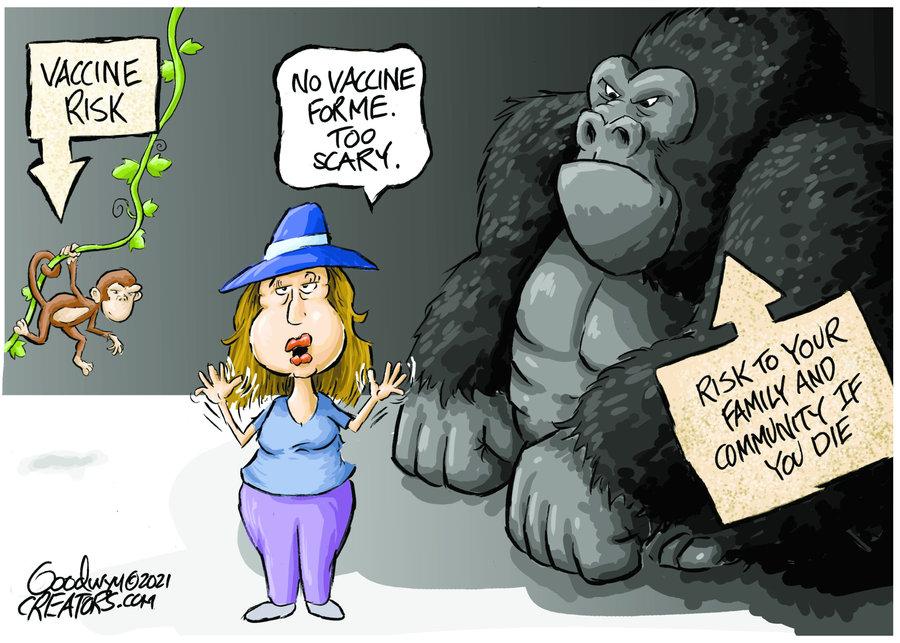 Al Goodwyn Editorial Cartoons Comic Strip for September 13, 2021