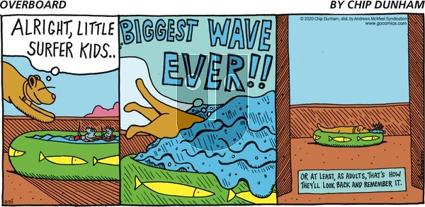 Overboard on Sunday August 30, 2020 Comic Strip