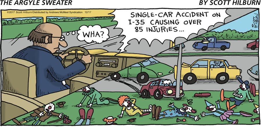 The Argyle Sweater for Dec 17, 2017 Comic Strip