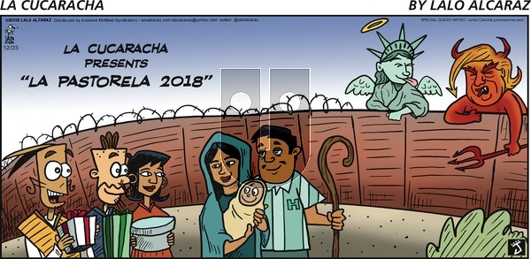 La Cucaracha on Sunday December 23, 2018 Comic Strip