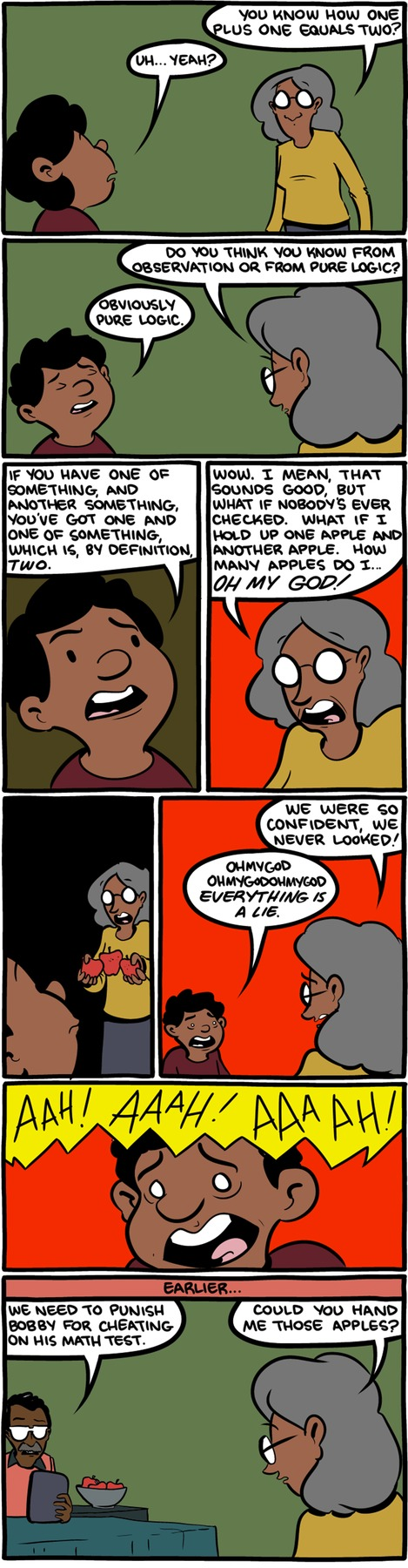 Saturday Morning Breakfast Cereal Comic Strip for December 27, 2015
