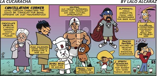 La Cucaracha on Sunday April 18, 2021 Comic Strip