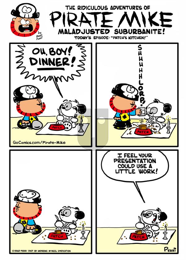 Pirate Mike - Saturday March 6, 2021 Comic Strip