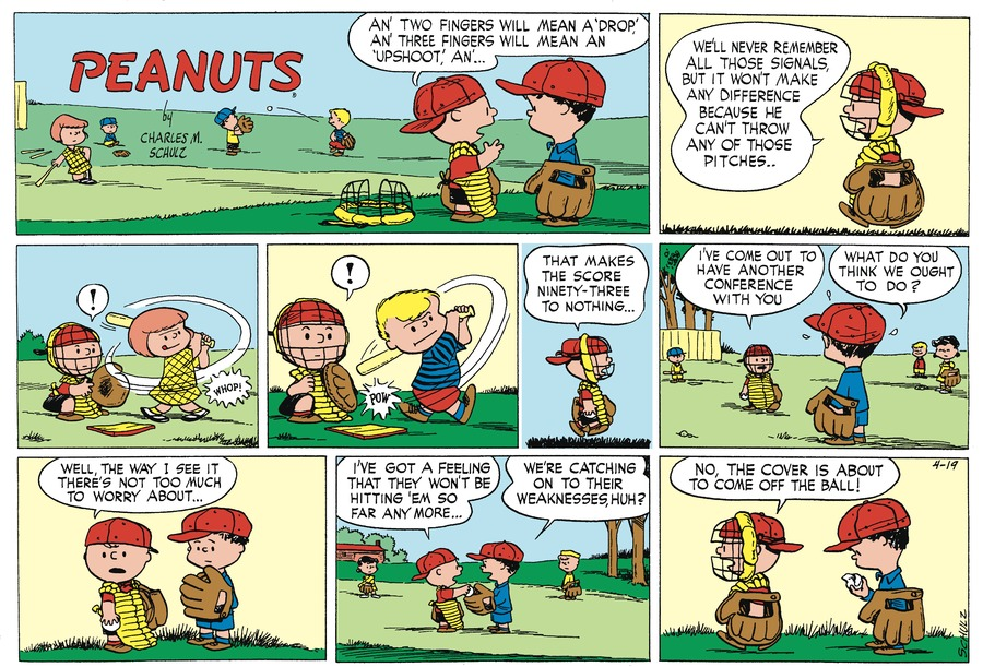 Peanuts Begins by Charles Schulz on Sat, 17 Apr 2021
