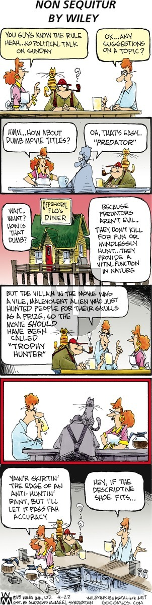 Non Sequitur on Sunday April 22, 2018 Comic Strip