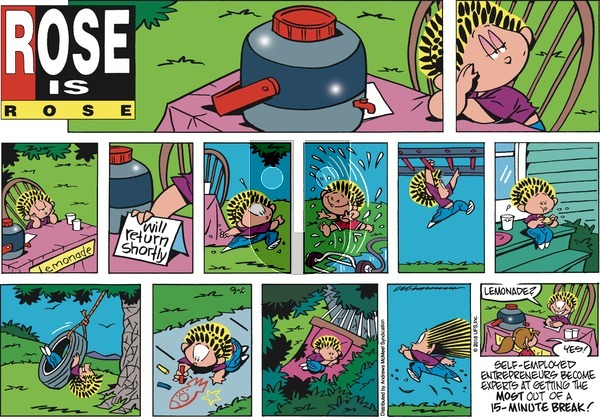 Rose is Rose on Sunday September 2, 2018 Comic Strip