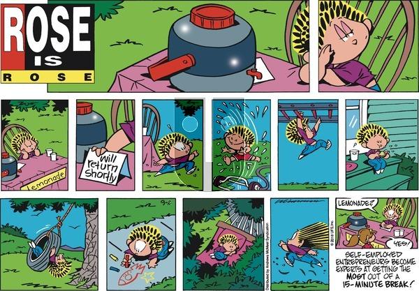 Rose is Rose on Sunday September 2, 2018 Comic Strip