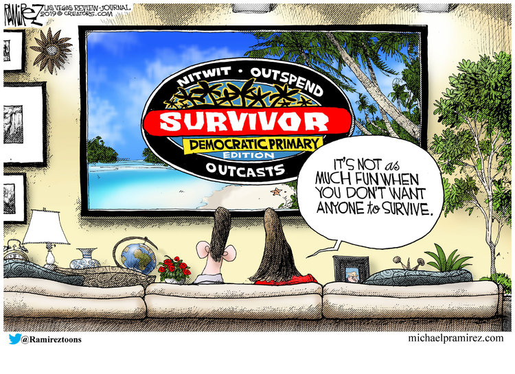Michael Ramirez Comic Strip for June 28, 2019