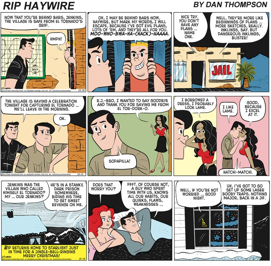 Rip Haywire Comic Strip for June 13, 2021