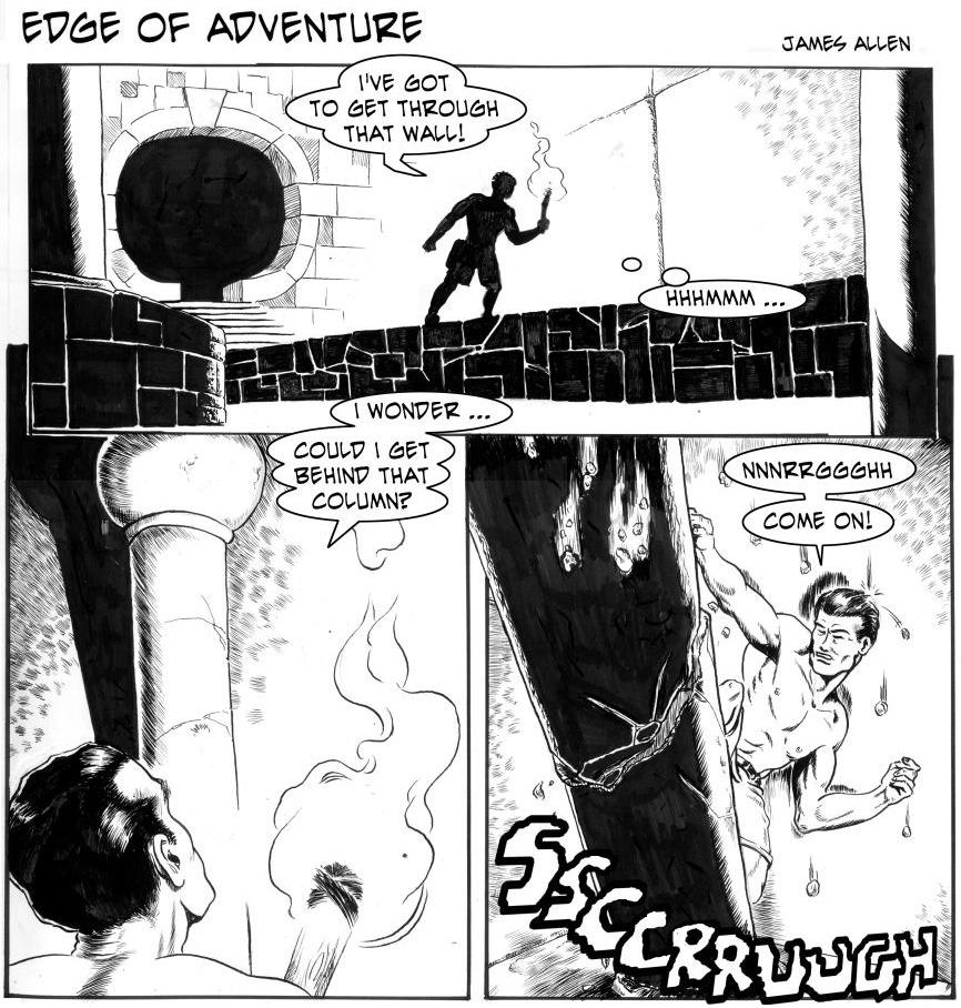 Edge of Adventure Comic Strip for November 17, 2019