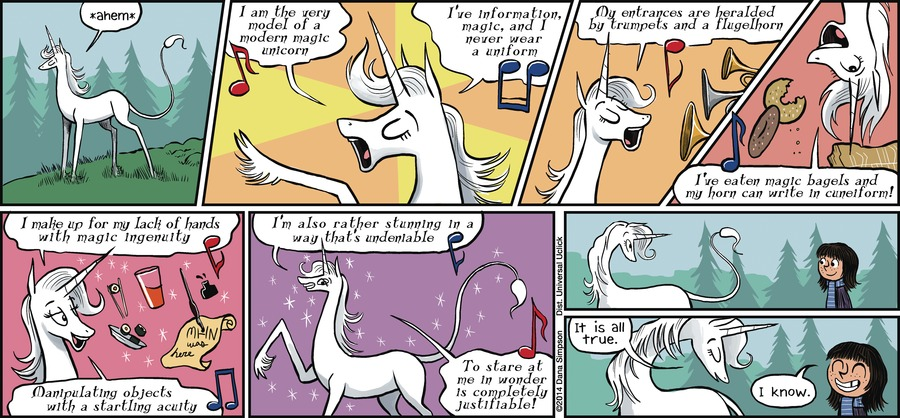 Phoebe and Her Unicorn for Dec 2, 2012 Comic Strip