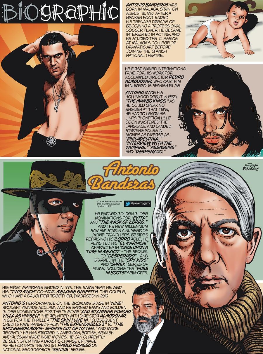 Biographic Comic Strip for April 29, 2018