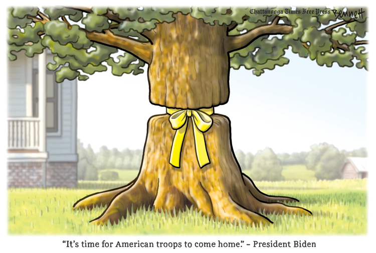 Clay Bennett Comic Strip for April 16, 2021
