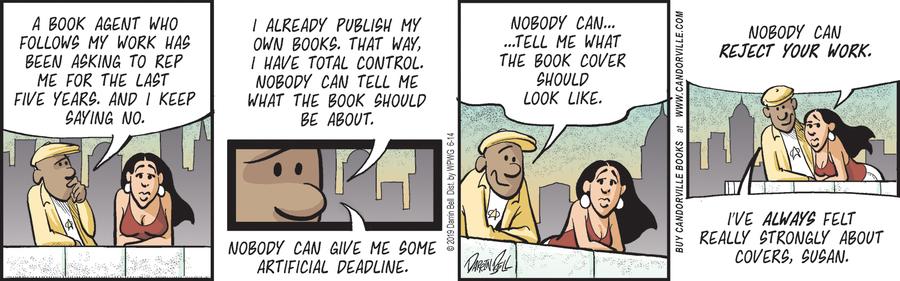 Candorville Comic Strip for June 14, 2019