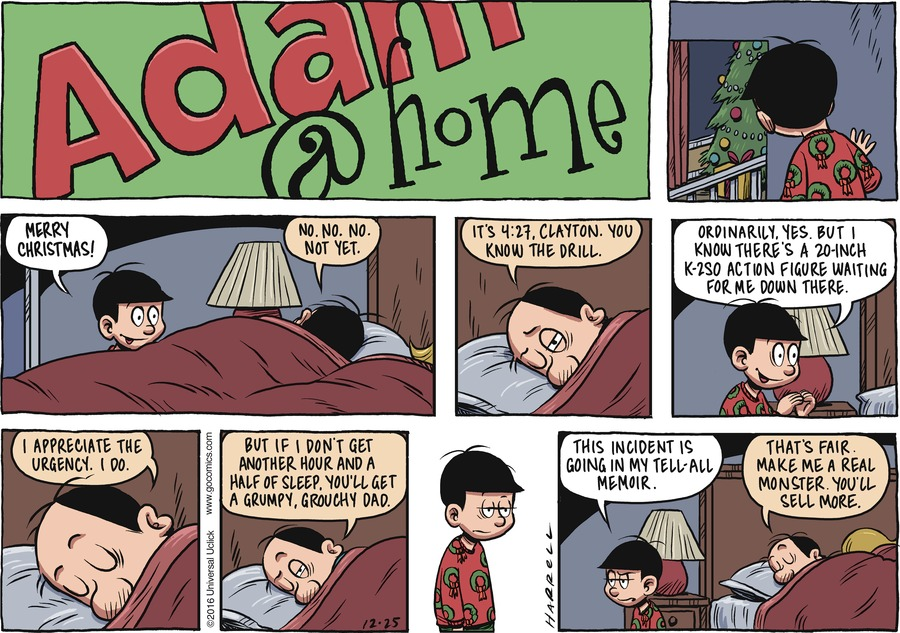 Adam@Home for Dec 25, 2016 Comic Strip