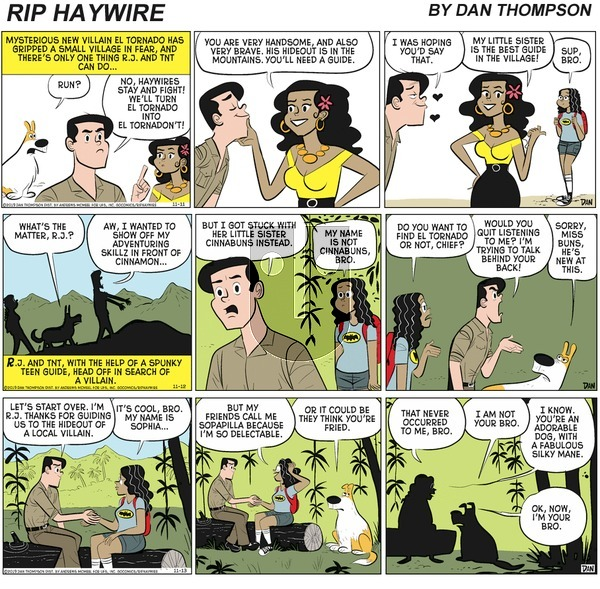 Rip Haywire on Sunday April 4, 2021 Comic Strip