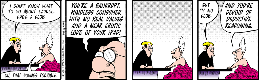Rudy Park Comic Strip for May 23, 2020