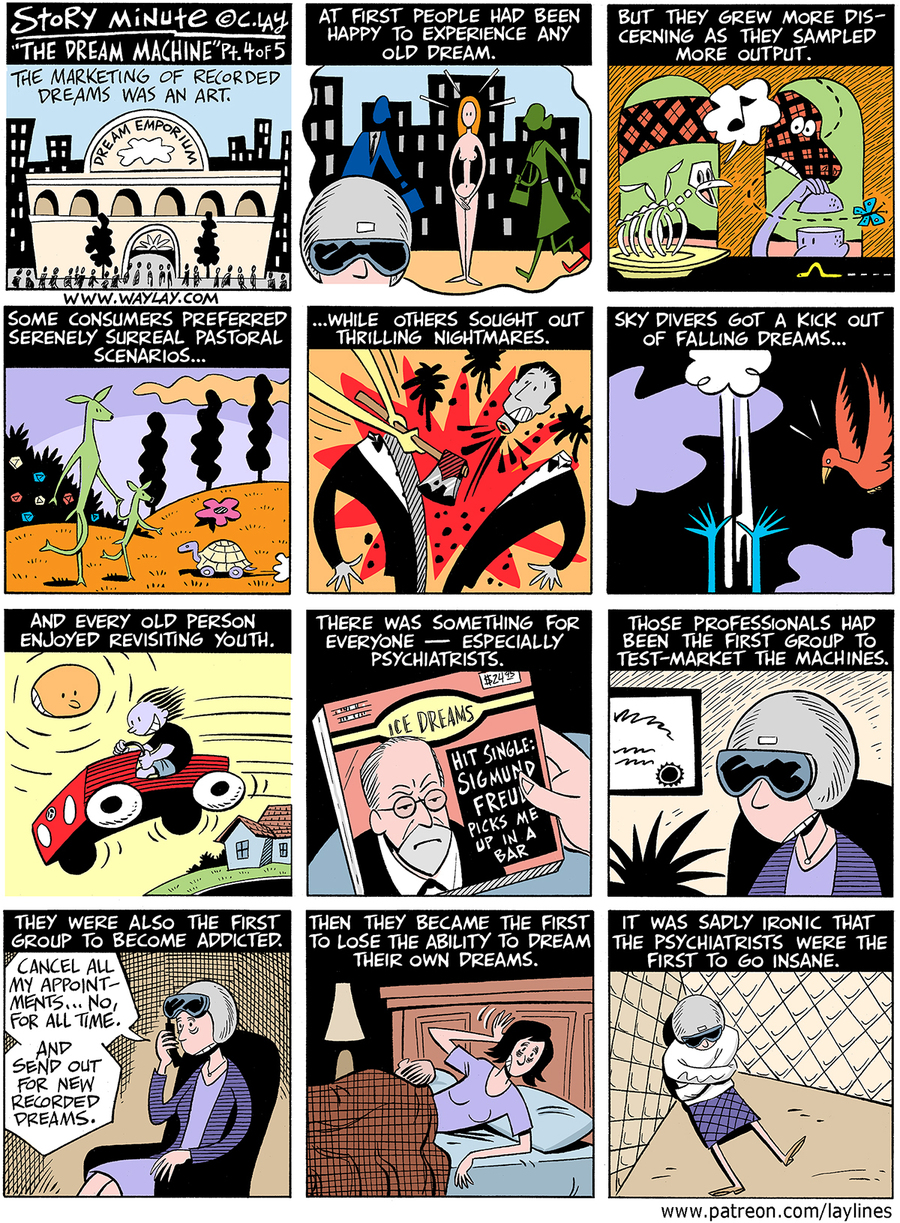 Lay Lines Comic Strip for November 24, 2015